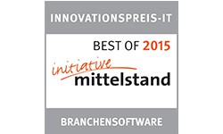Innovationspreis IT - Branchensoftware - Best of 2013